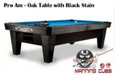 Diamond ProAm Pool Table - Cue master pool table