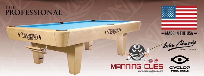 Manning Cues - Billiard Supply - Pool Cues - Cue Shafts