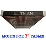Littman Lights for 7' Tables