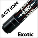 Action Exotic Pool Cues