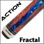 Action Fractal Pool Cues