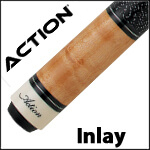 Action Inlay Pool Cues