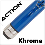 Action Khrome Pool Cues