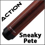 Action Sneaky Pete Pool Cues