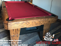 Hal's 7' Pro-Am Oak Walnut from North Carolina
