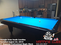 Georgio's 9' Professional Maple Black from South Carolina