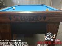 Paul's 7' Pro-AM Oak Walnut from Pennsylvania