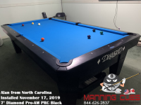 Alan's'7' Pro-AM PRC Black from North Carolina