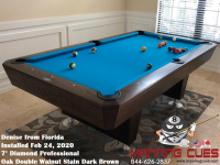 Denise's 7' Professional Oak Double Brown Cherry  from Florida