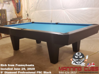 Rich's 9' Professional PRC Black from Pennsylvania