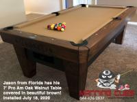 Jason from Florida -7' Pro AM Oak Walnut