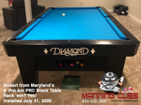 Robert from Maryland -9' Pro-AM PRC Black