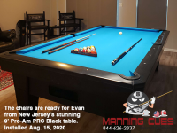 DIAMOND 9' PRO-AM PRC BLACK - EVAN FROM NEW JERSEY - IN AUG 15, 2020