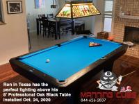 DIAMOND 8' PROFESSIONAL OAK BLACK - RON FROM TEXAS - INSTALLED OCTOBER 24, 2020