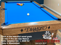 DIAMOND 7' PRO AM OAK WALNUT - TOBY FROM MISSISSIPPI - INSTALLED OCTOBER 1, 2020