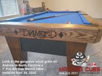DIAMOND 7' PRO-AM OAK WALNUT - ANDREW FROM NORTH CAROLINA - INSTALLED NOVEMBER 30, 2020