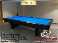 DIAMOND 9' PROFESSIONAL OAK BLACK - RUDY FROM INDIANA - INSTALLED NOVEMBER 6, 2020