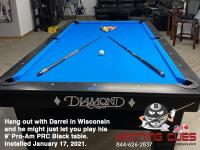 DIAMOND 9' PRO-AM PRC BLACK - DARREL FROM WISCONSIN - INSTALLED JAN 17, 2021