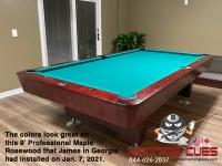 DIAMOND 9' PROFESSIONAL MAPLE ROSEWOOD - JAMES FROM GEORGIA - INSTALLED JAN 7, 2021