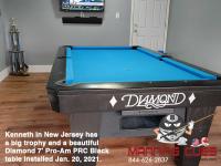 2DIAMOND 7' PRO-AM PRC BLACK - KENNETH FROM NEW JERSEY - INSTALLED JAN 20, 2021