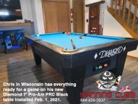 7DIAMOND 7' PRO-AM PRC BLACK - CHRIS FROM WISCONSIN - INSTALLED FEB 1, 2021
