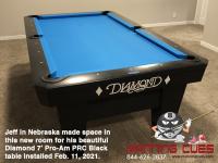 10DIAMOND 7' PRO-AM PRC BLACK - JEFF FROM NEBRASKA - INSTALLED FEB 11, 2021