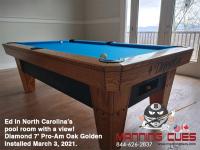 19DIAMOND 7' PRO-AM OAK GOLDEN - ED FROM NORTH CAROLINA - INSTALLED MARCH 3, 2021