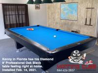 12DIAMOND 9' PROFESSIONAL OAK BLACK - KENNY FROM FLORIDA - INSTALLED FEB 14, 2021