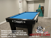 DIAMOND 7' PRO-AM PRC BLACK - MATTHEW FROM WISCONSIN - INSTALLED JULY 8, 2021