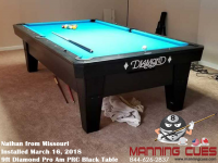 Nathan's 9ft Pro Am Black PRC Table from Missouri