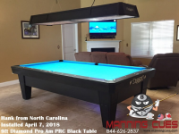 Diamond ProAm Pool Table - 9ft diamond pool table
