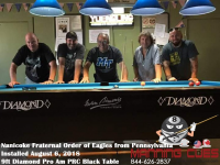 Nanicoke's 9' Pro AM Black PRC Table