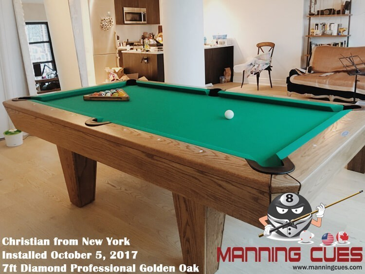 Diamond Professional Pool Table - How much room is needed for a pool table