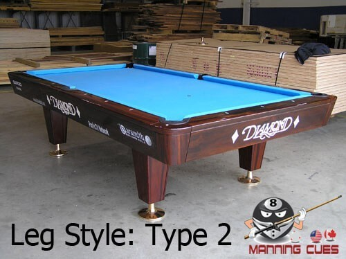 Diamond Professional Pool Table - Tournament choice pool table