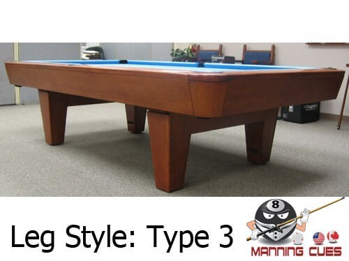 Diamond Professional Pool Table - How much room for a pool table