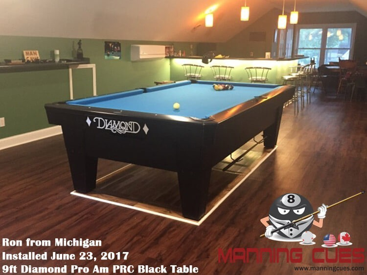 Diamond Pro Am Pool Table