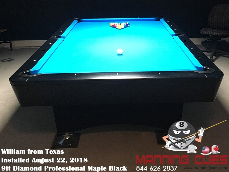 Diamond Professional Pool Table - Austin pool table movers