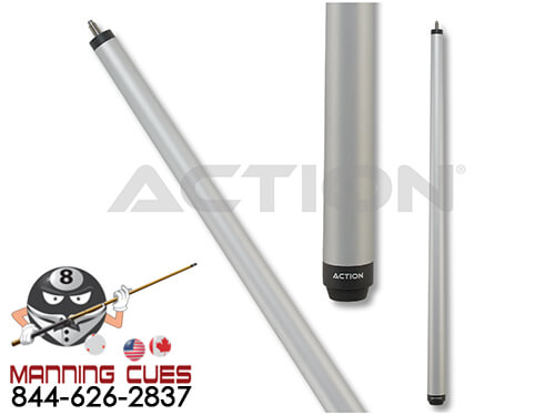 Action 25oz Break Cue - Matte silver Metalic ACTBKH04