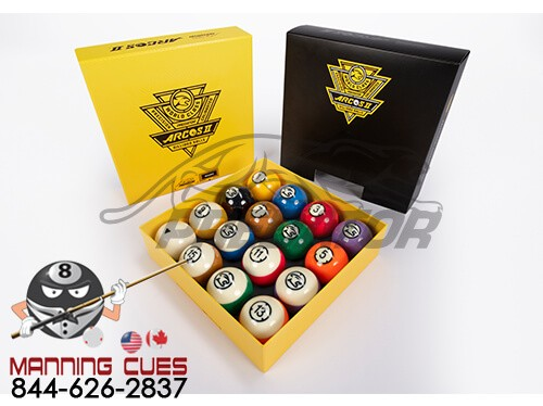 Predator Arcos II Pool Ball Set From Aramith