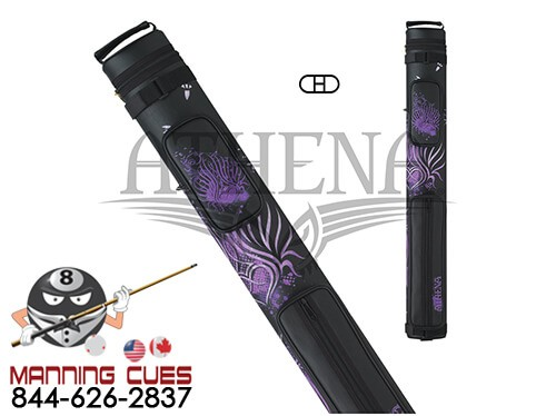 Athena 2B/2S Purple Tribal Heart Hard Case