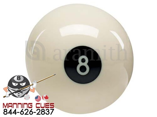 Aramith White Eight Ball
