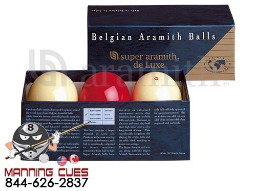 Aramith Super Deluxe Carom Ball Set