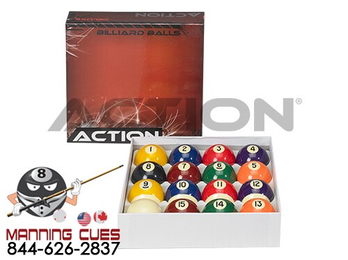 Action Pool Ball Set - Deluxe