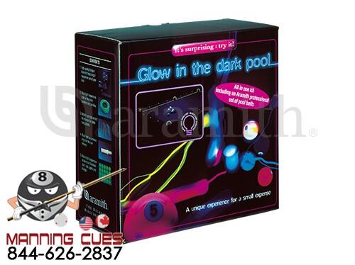 Glow In The Dark Aramith Pool Ball Set