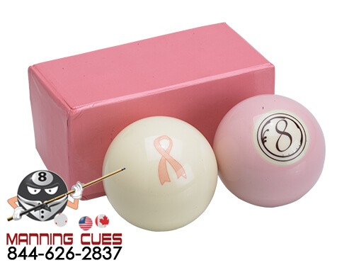 Action Pool Balls - Breast Cancer Awareness