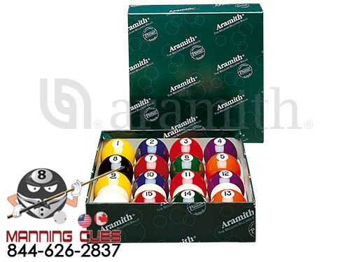 Aramith Premier Pool Ball Set 2 1/8""