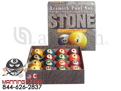Stone Aramith Pool Ball Set