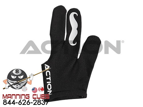 Action Billiard Mustache Glove