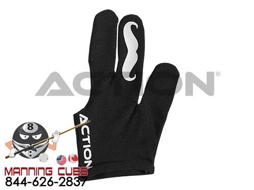 Action Billiard Mustache Glove
