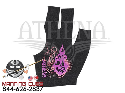 Athena Pink & Purple Billiard Glove